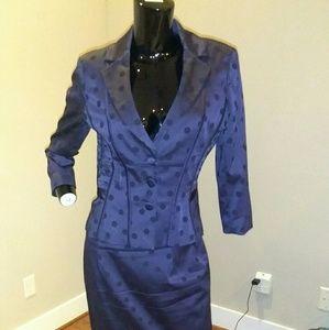 Kay unger 2 piece suit
